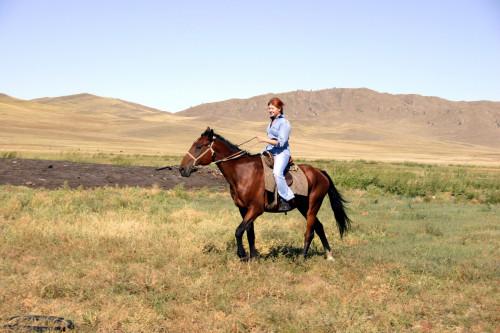 Светка на коне