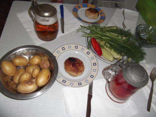 типичный обед и ужин