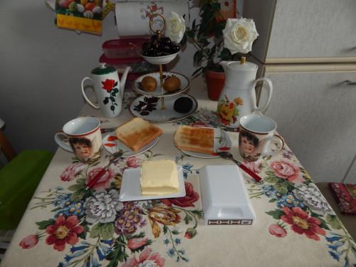 типичный завтрак